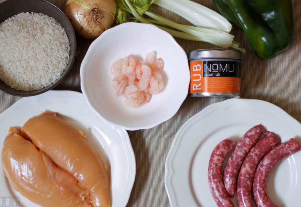 ingredientes jambalaya
